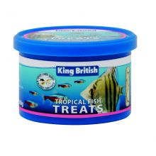 King british tropical fish treats 60g pet for Purina tropical fish food