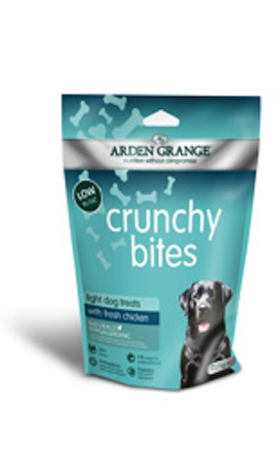 Arden Grange Crunchy Bites Light with Chicken 225g