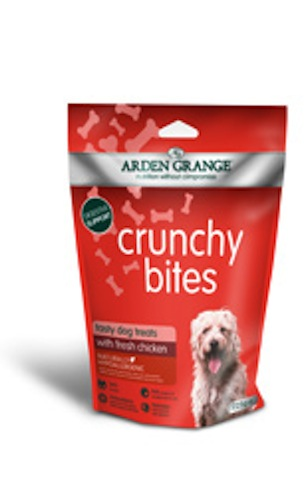 Arden Grange Crunchy Bites with Chicken 225g