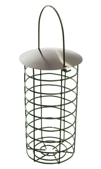 Fatball Feeder with Lid (Large) for Wild Birds