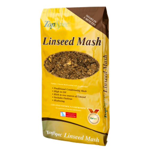 Topspec Linseed Mash 20kg (Local Delivery Only)