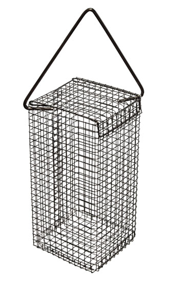Nut / Peanut / Scrap Basket Feeder (Metal) for Wild Birds