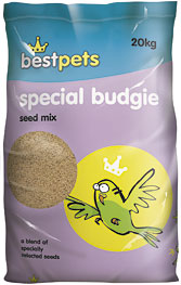 Special Budgie Seed Mix 20 Kg (LOCAL DELIVERY ONLY)