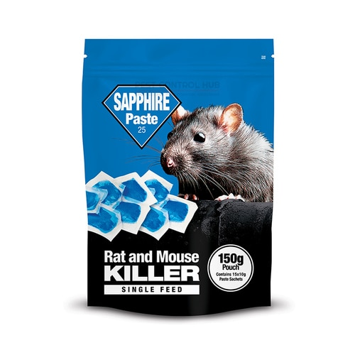 Sapphire Paste 150g Rat and Mouse Killer