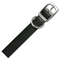 Ancol Leather Sewn Collars - 10 Sizes & 3 Colours Available