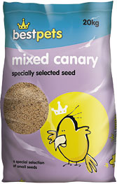 Mixed Canary Seed 20 Kg (LOCAL DELIVERY ONLY)