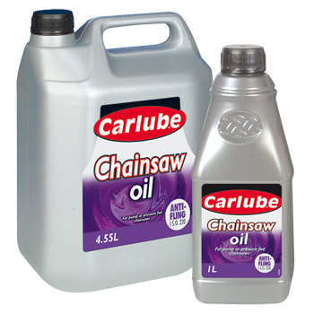 Chainsaw Oil 4.55 Litre by Carlube (LOCAL DELIVERY/PICK UP ONLY)