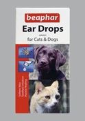 Beaphar Ear Drops for Dogs & Cats 15 ml