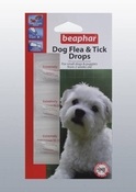 Beaphar Dog Flea & Tick Drops 3 Tubes