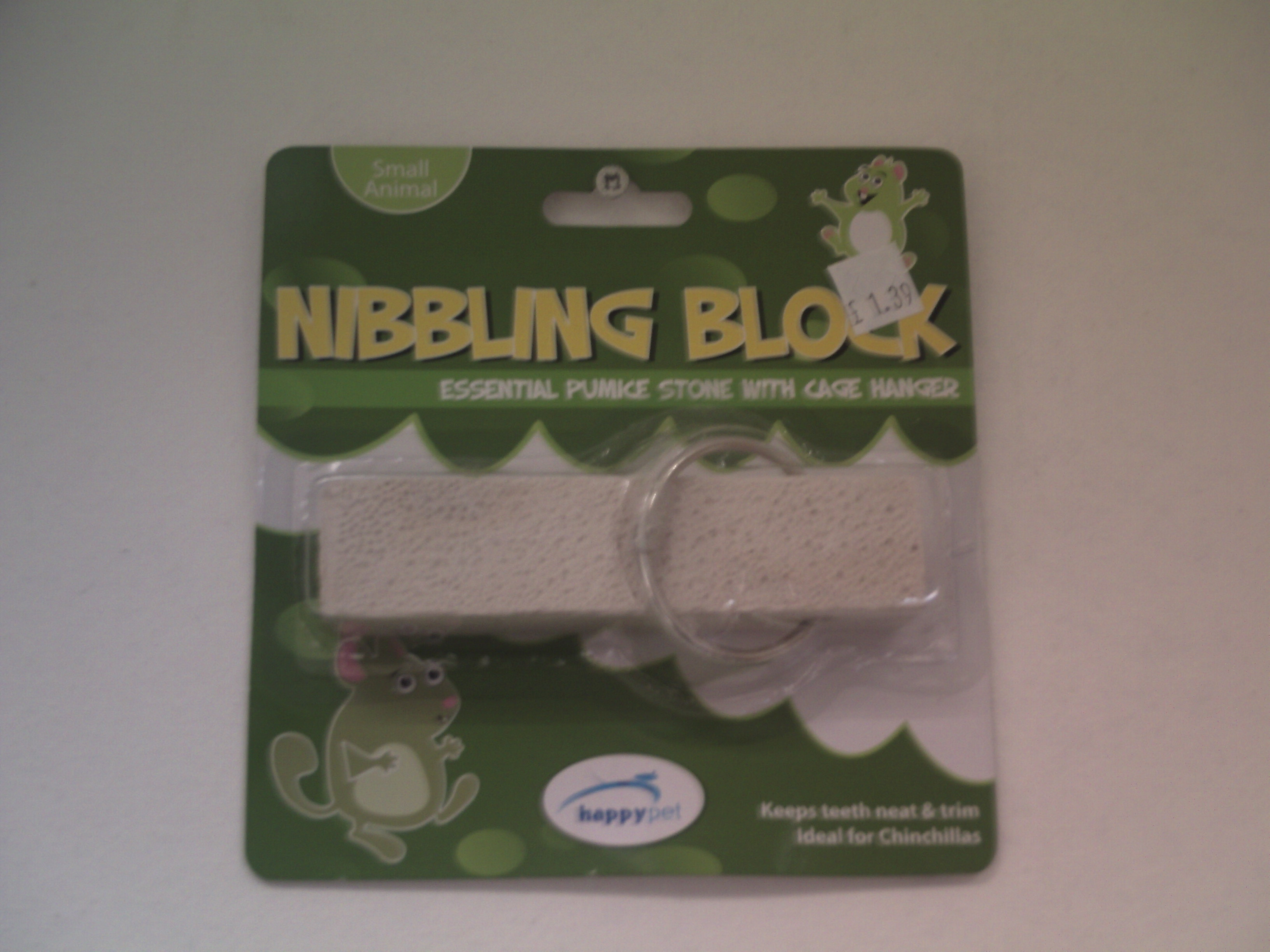 Nibbling Block for Small Animals