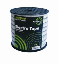 Paddock Electro Tape 20mm 200m