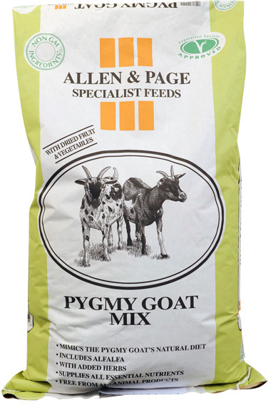 Allen & Page Pygmy Goat Mix 15 Kg (LOCAL DELIVERY ONLY)