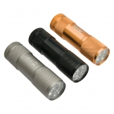 RAC 9-LED Aluminium Mini Torch & Batteries RAC-HP-920