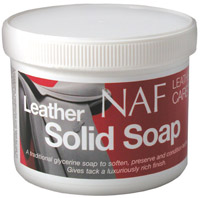 NAF Leather Solid Soap 450g